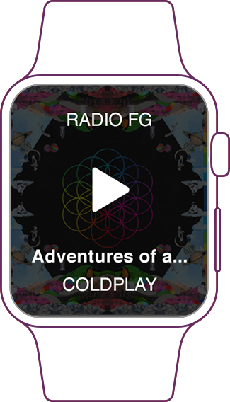 Votre radio sur Apple Watch