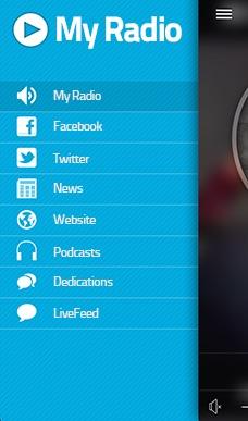 Crea un'App radio