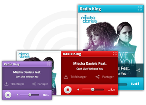 Three formats included with Radio Player