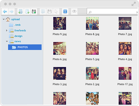 Adding photo is a breeze